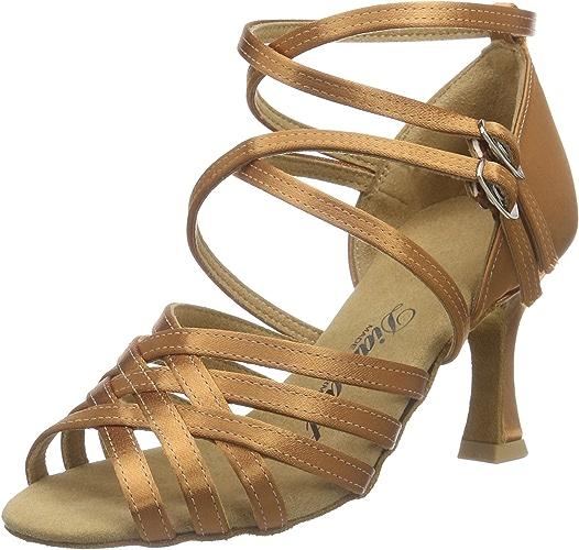 Diahommet femmes Latein Tanzchaussures 108-087-379, Chaussures de Danse de Salon Femme
