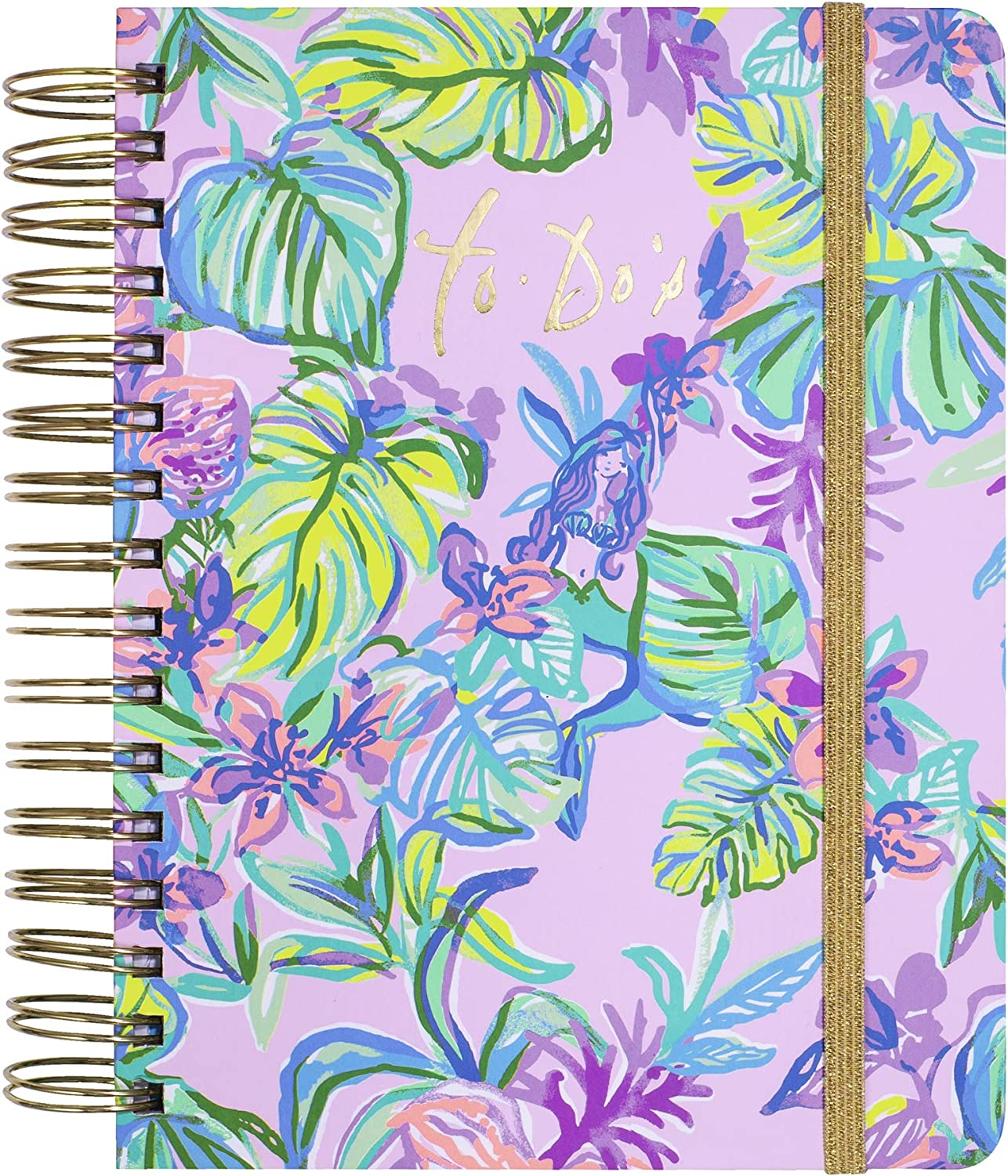 Lilly Pulitzer Undated To Do Daily in Cheap Ranking TOP14 Planner Mermaid the Shade