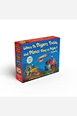 Where Do Diggers, Trains, and Planes Sleep at Night? Board Book Boxed Set (Where Do...Series) Board book