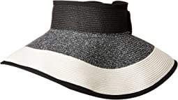 San Diego Hat Company - UBV038 Roll Up Visor with Bow Closure