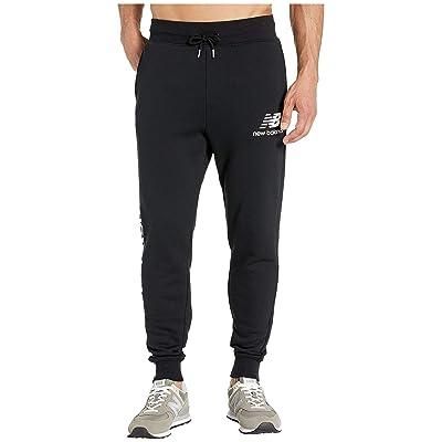 New Balance Essentials Logo Sweatpants (Black) Men
