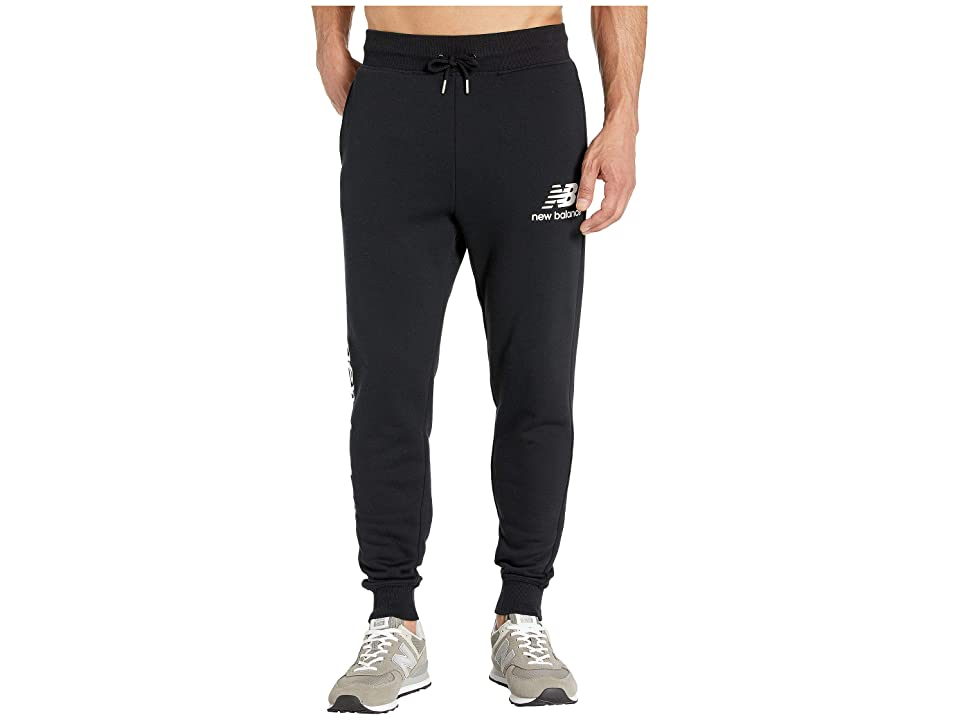 New Balance Essentials Logo Sweatpants (Black) Men