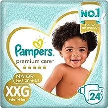 Fralda Pampers Premium Care Mega, XXG, 24 Unidades