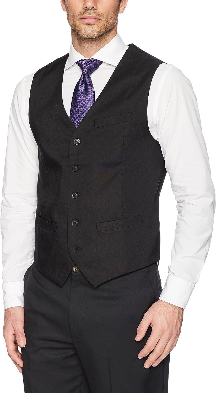AXIST mens 5 Button Textured Vest