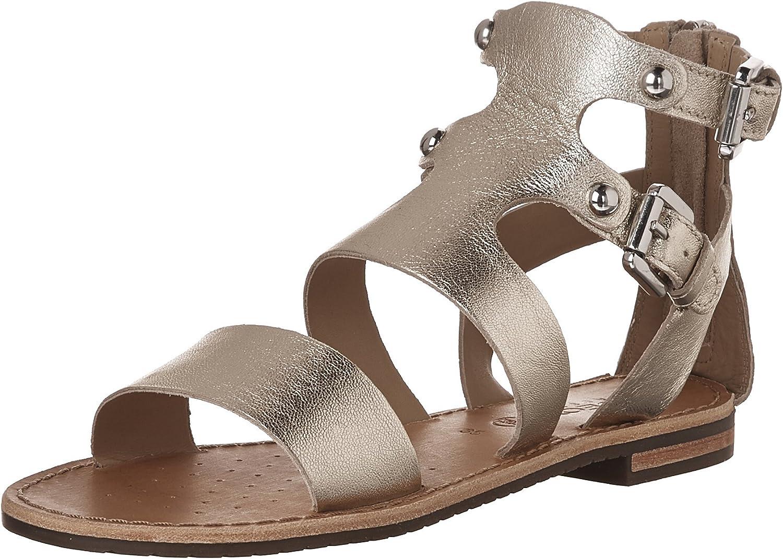 Geox Women's D Sozy G Flat Sandals