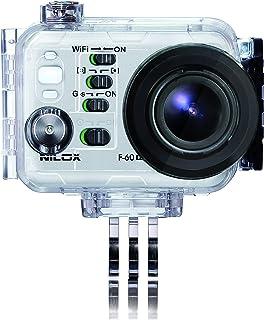 Nilox 13NXAKCSEV002 Camera mount accesorio para cámara de deportes de acción - accesorios para cámara de deportes de acción (Camera mount, Universal, Transparente, De plástico, Resistente al polvo, Resistente a rayones, Resistente al agua, F-60 EVO, EVO MM93, Evo 4k)