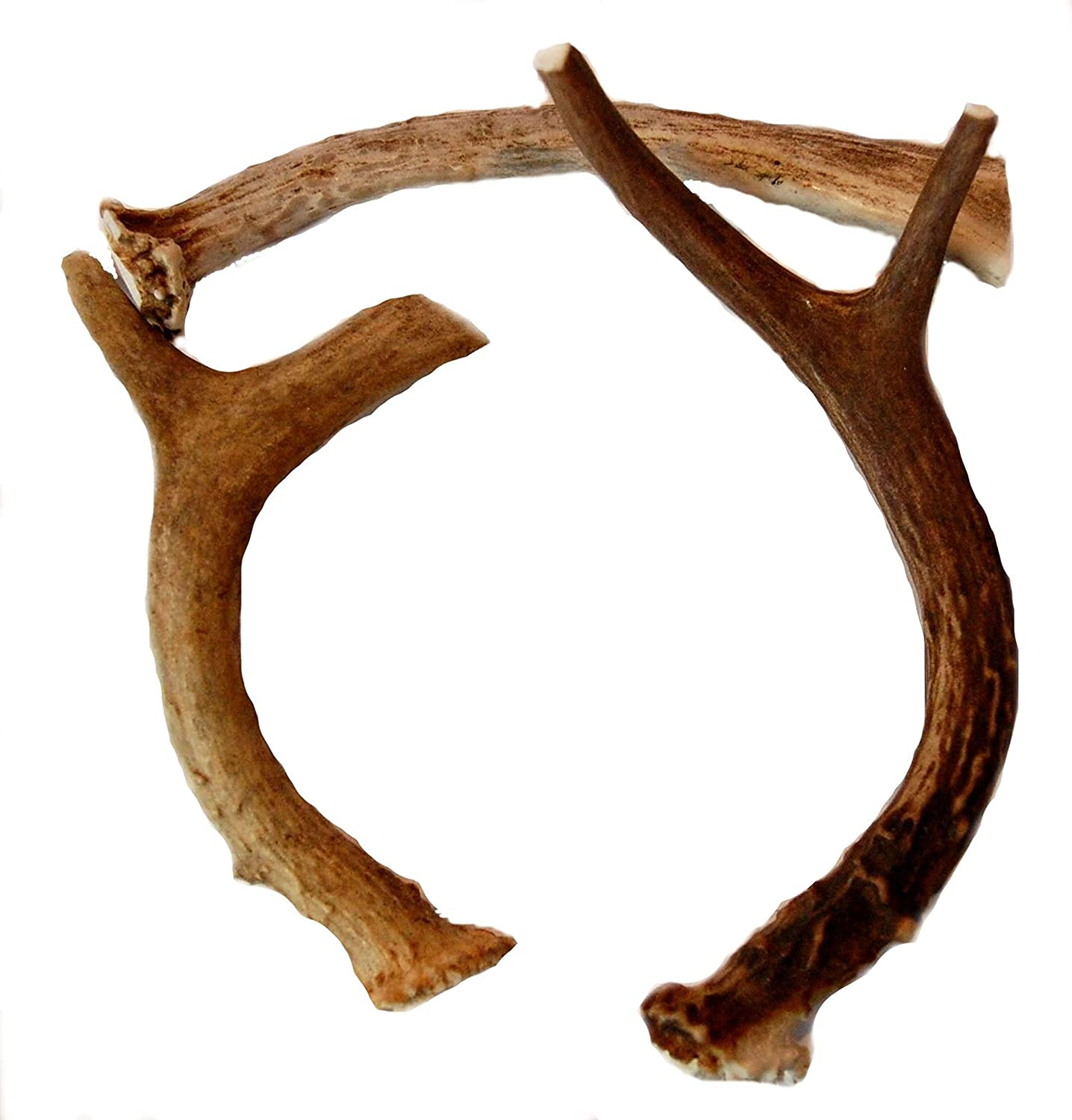Big Dog Antler Chews 3 Pack Medium Deer Antler Dog Chews  5 Inches to 10 Inches  for Small to Medium Size Dogs Brand