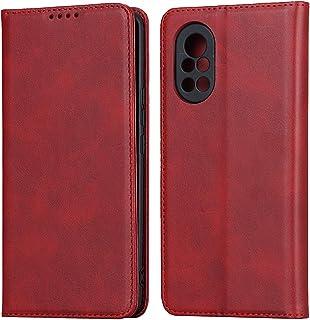 Flip Case Cover för Huawei Nova 8 5G (röd)