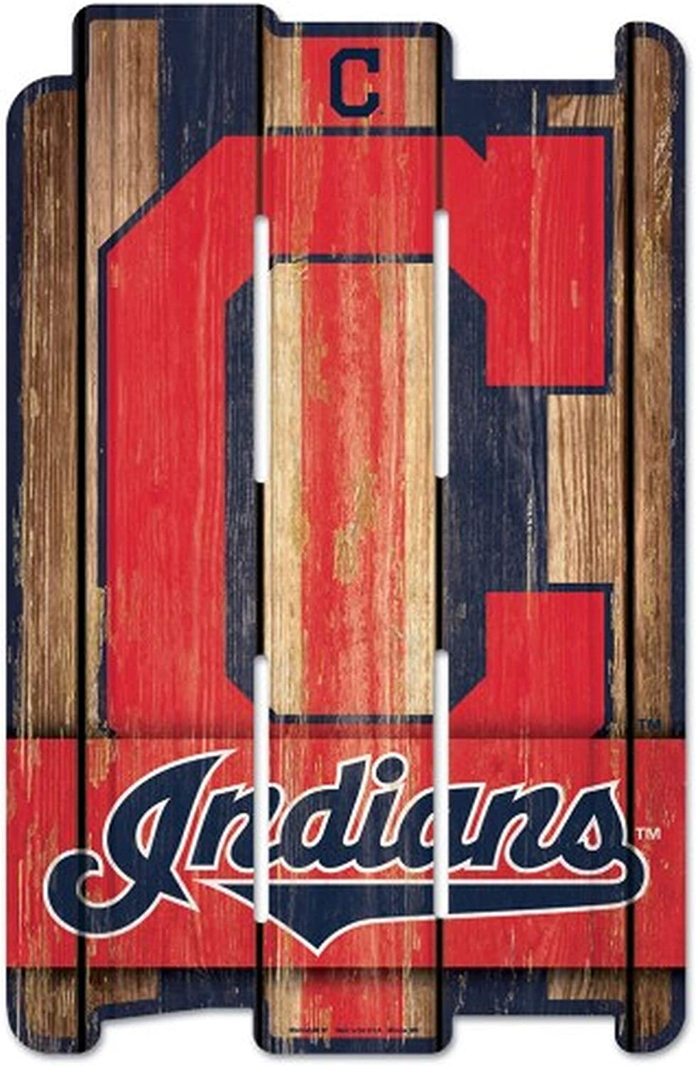 WinCraft MLB Wood Fence Sign