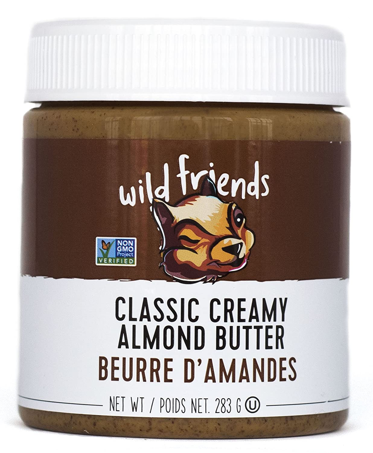 Wild Los Angeles Max 47% OFF Mall Friends Foods Almond Butter Classic 10 oz Creamy Jar