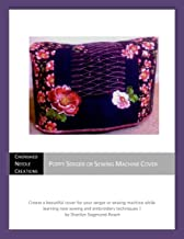 Poppy Serger or Sewing Machine Cover