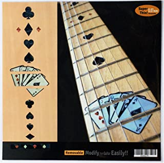 Fretboard Markers Inlay Sticker Decals for Guitar - Playing Card - BP