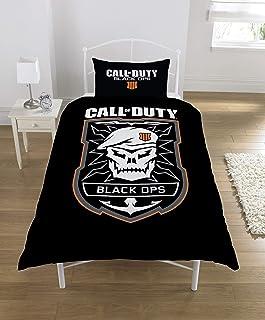 Call Of Duty Black Ops Emblem Single Duvet