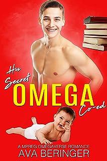 His Secret Omega Co-ed: A Mpreg Omegaverse Romance