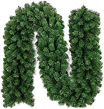 THEE Christmas Garland Artificial Pine Wreath Garlands Xmas Decorations 8.9ft/2.7M 2pcs