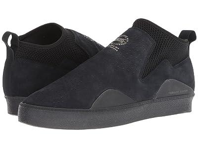adidas Skateboarding 3ST.002 (Black/Black/Black) Men
