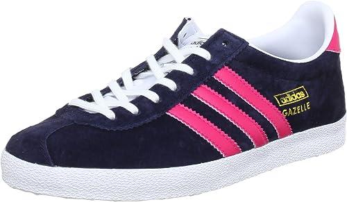 adidas Originals Gazelle OG W, Sneakers Basses Femme - Bleu - Bleu ...