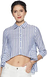 ONLY Women's Plain Loose Fit Shirt
