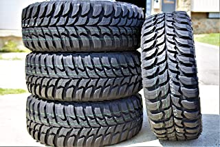 Set of 4 (FOUR) Crosswind M/T Mud Tires - 33X12.50R15LT 108Q C (6 Ply)