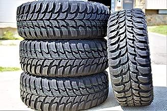 Set of 4 (FOUR) Crosswind M/T Mud Radial Tire-33X12.50R18LT 118Q LRE 10-Ply