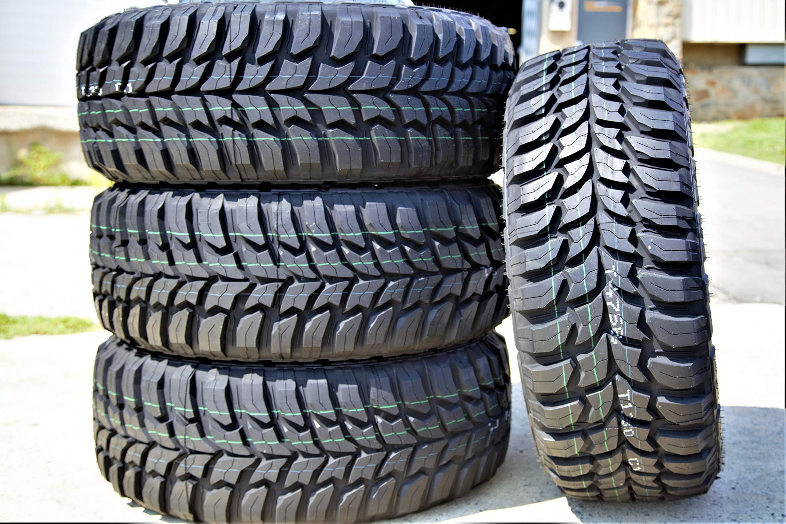 Set of 4 (FOUR) Crosswind M/T Mud Radial Tires-LT315/75R16 127/124Q LRE 10-Ply