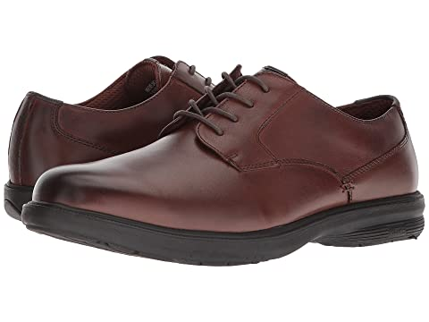 Nunn Bush Marvin Street Plain Toe Oxford with KORE Slip Resistant Walking Comfort Technology Brown Cheap Sale 100% Guaranteed Outlet Pictures Visit New Online For Sale Online dg89su8Pz