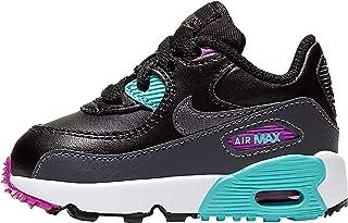 Air Max 90 LTR TD Kids Black/Grey/Aurora 833416-033