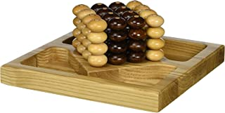 Square Root Games 0026 Pillars of Plato in Natural Finish Solid Hardwood