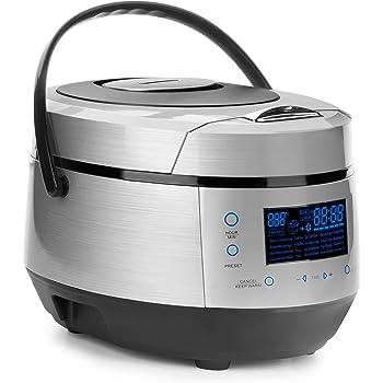 Lacor - 69335 - Olla eléctrica programable 5 litros 950w - Gris: Amazon.es: Hogar