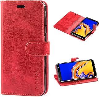 Mulbess Cover per Samsung Galaxy J4 Plus, Custodia Pelle con Magnetica per Samsung Galaxy J4 Plus / J4+ [Vinatge Case], Vi...