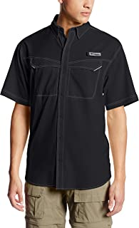Columbia Men's Low Drag Offshore Short Sleeve Shirt, UPF 40 Protection, Moisture Wicking Fabric