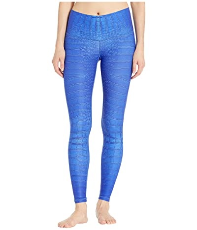 Niyama Sol Electric Croc Leggings (Electric Royal) Women