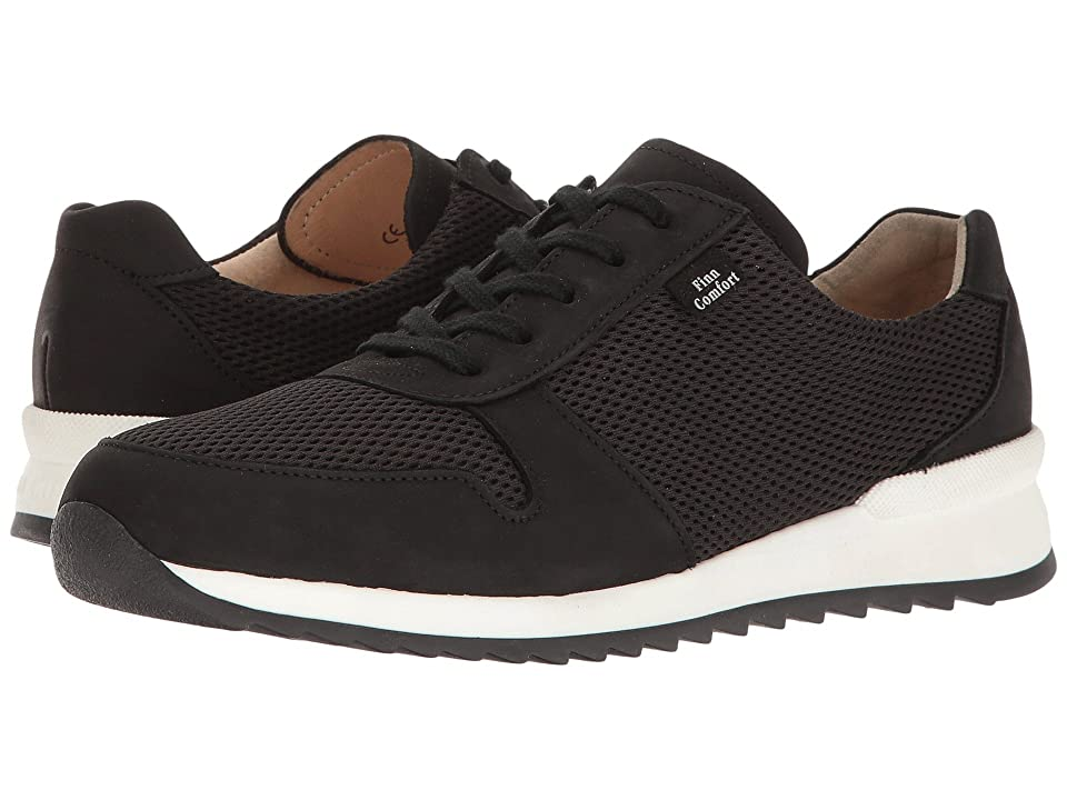 Finn Comfort Sidonia (Black Buggy/Skipper) Women's Lace up casual Shoes