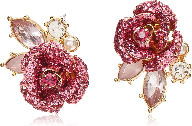 Betsey Johnson Mismatch Stud Earrings: Jewelry