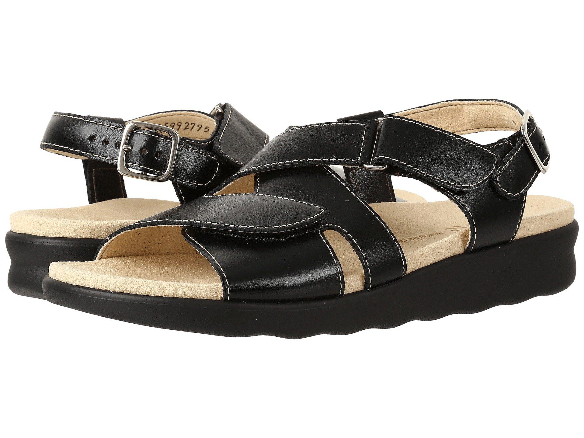 Sas Shoes Huggy  Black Wide