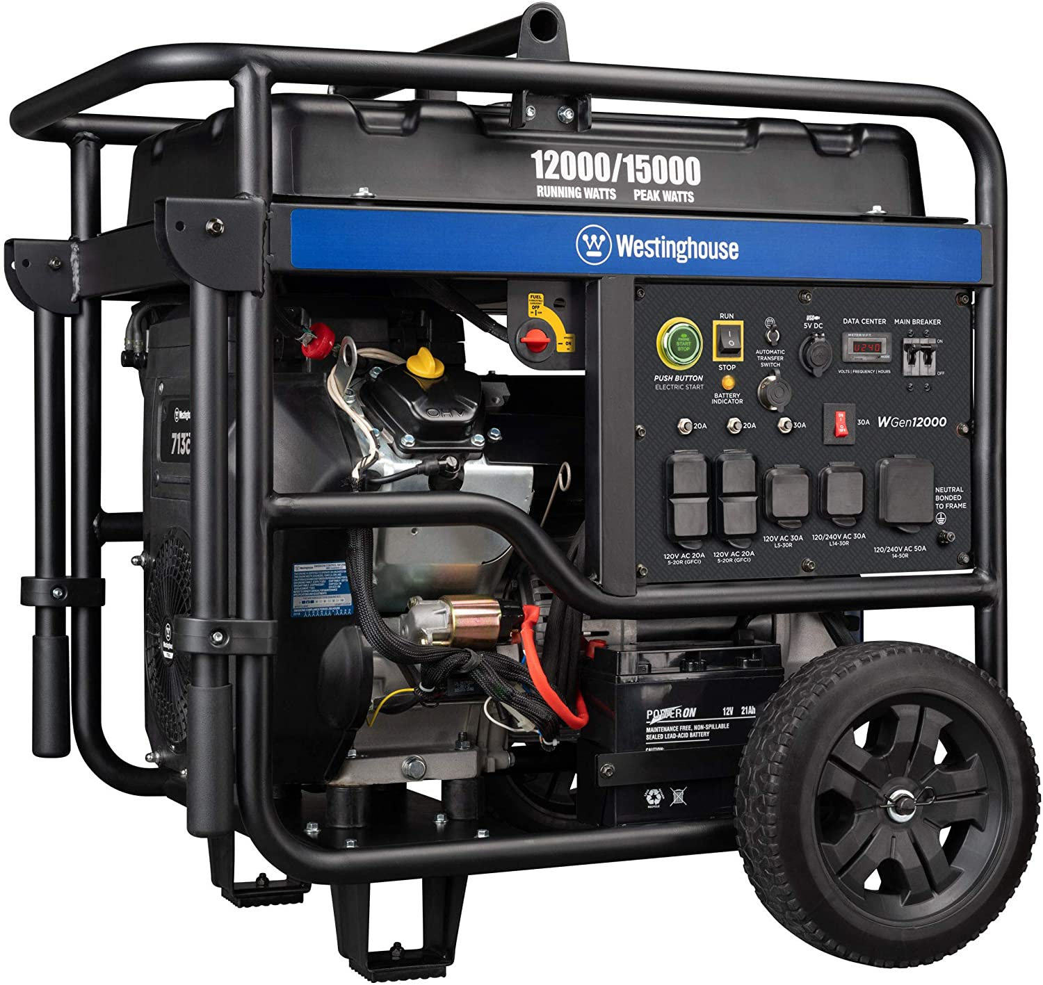 Westinghouse Outdoor Power Equipment Portab Ultra WGen12000 Max In a popularity 50% OFF Duty