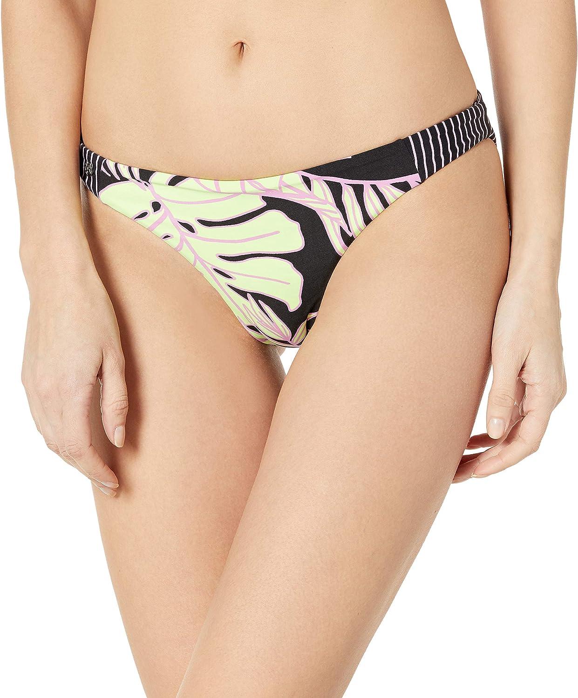 Maaji Women's Flirt Reversible Signature Cut Bikini Bottom Swimsuit