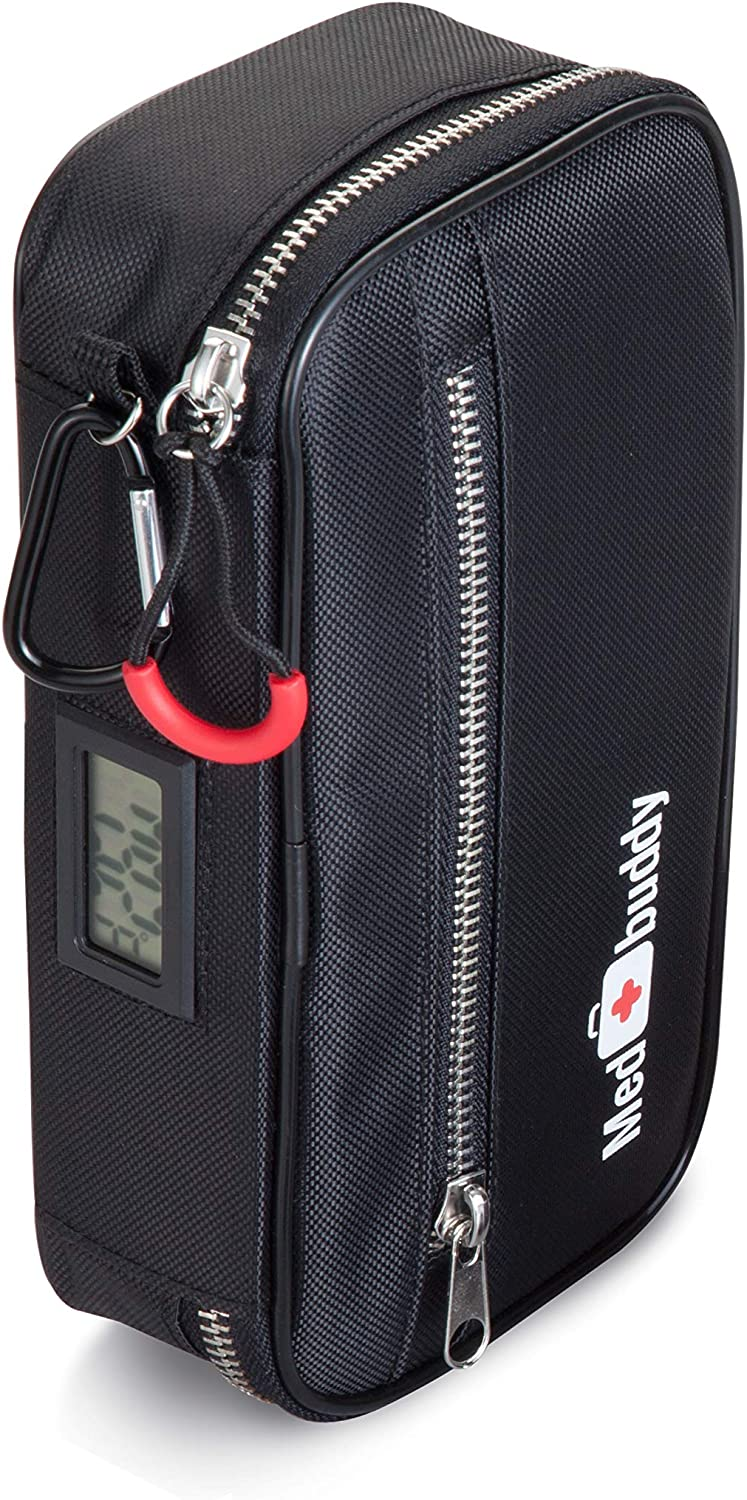 Insulated Attention brand Premium Medical A surprise price is realized Case - Great EpiPe Aid for: First Kit