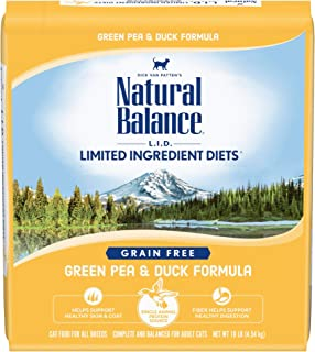 Natural Balance L.I.D. Limited Ingredient Diets Dry Cat Food, Grain Free (Packaging May Vary)