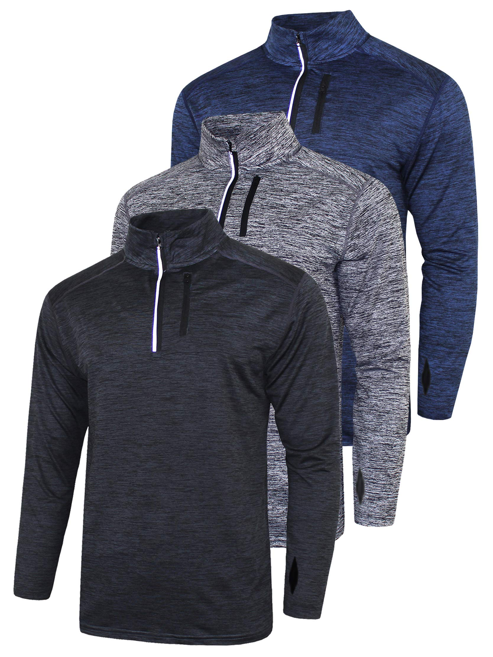 Sleeve Active Quarter Quick Pullover