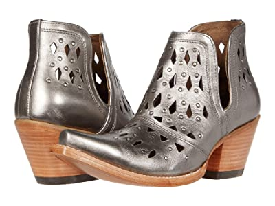 Ariat Dixon Studded (Silver Metallic) Cowboy Boots