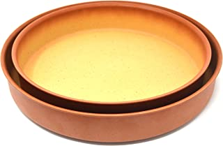 Amercook Set 2 Cazuelas Horno Terracotta (26 y 30 cm)