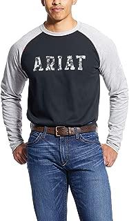Men's Flame Resistant Baseball Logo Crewwork Utility Tee Shirt