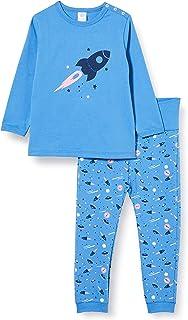 Sanetta Schlafanzug Blue Ensemble de Pijama Bébé garçon