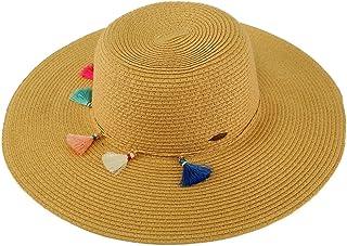 d48549cee8b35 C.C Fun Tassels Hatband Floppy Wide Brim 4