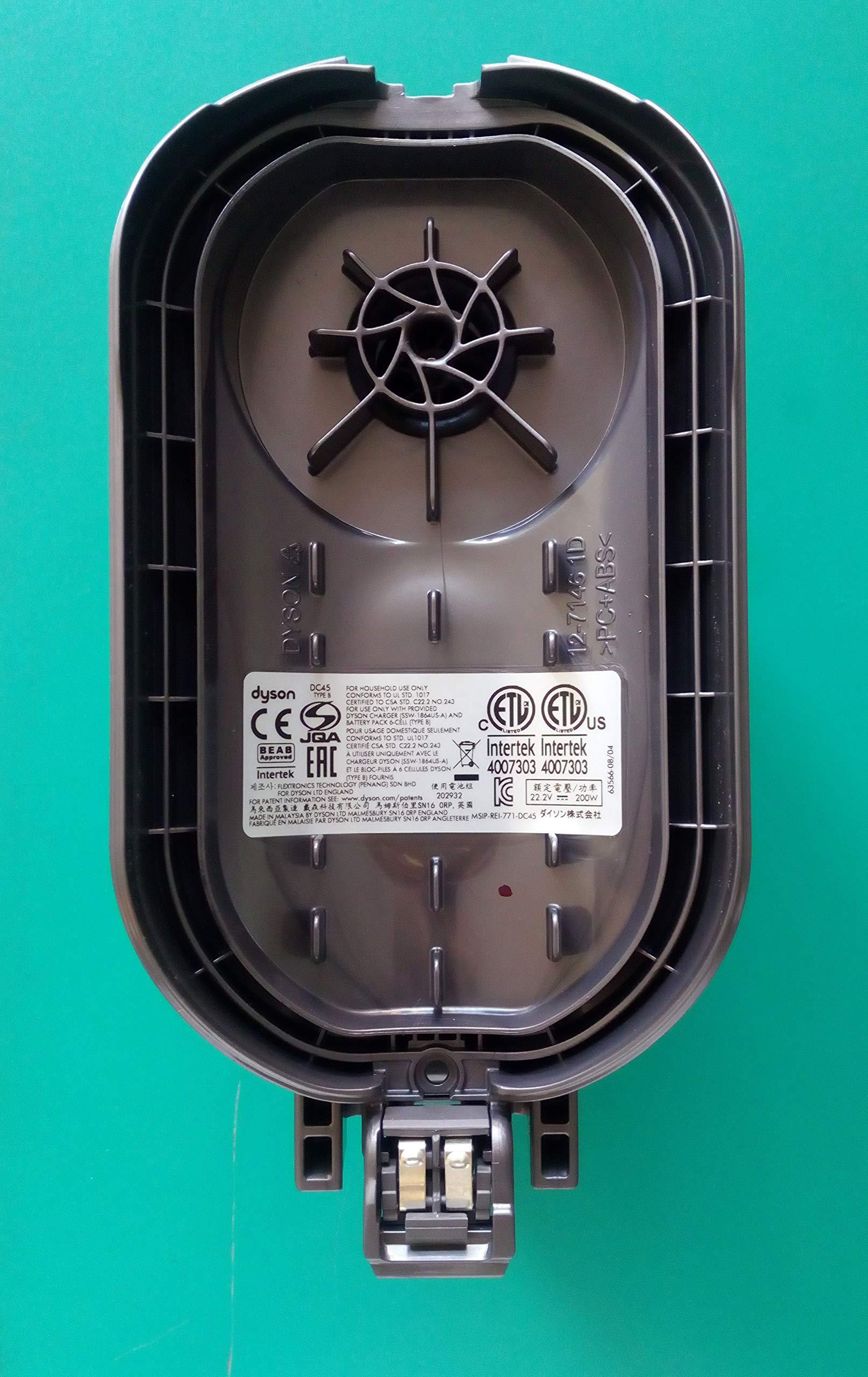 Cuerpo Motor Base aspiradora Original Dyson DC45 sin botón desenganche batería código 965558-16: Amazon.es: Electrónica