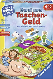 Ravensburger 24996 - Pocket Money - Play and Learning for Children, Educational Game for Children from 6-10 Years, Playing...