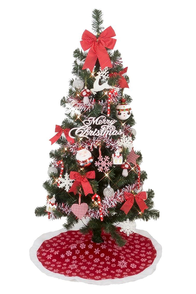 テロ暗殺するタバコクリスマス屋 クリスマスツリー 120cm 北欧 ノルディック ツリーセット