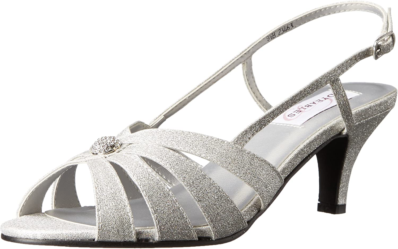 Dyeables, Inc Womens Fiona Dress Sandal