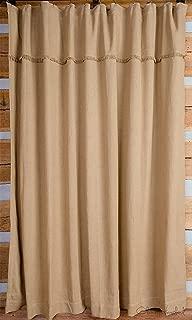 Best burlap look shower curtain Reviews